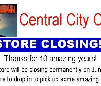 Central City Comix closing