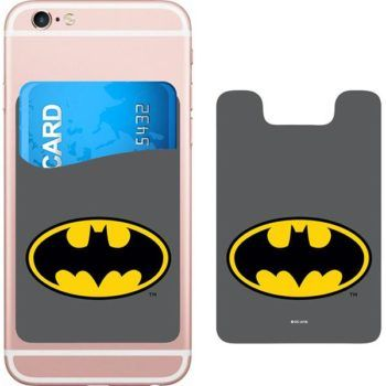 DC Comics Batman Logo Smartphone Card Holder Icon Heroes SDCC