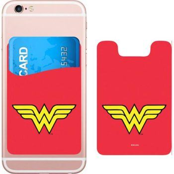 DC Comics Wonder Woman Logo Smartphone Card Holder Icon Heroes SDCC