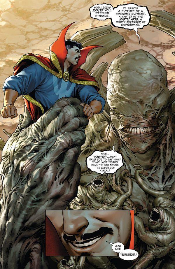 Doctor Strange #1 art by Jesus Saiz