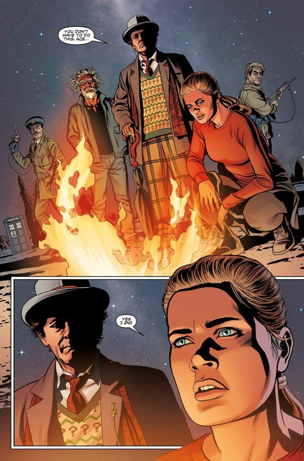 Doctor Who The Seventh Doctor: Operation Volcano #1 art by Christopher Jones and Marco Lesko
