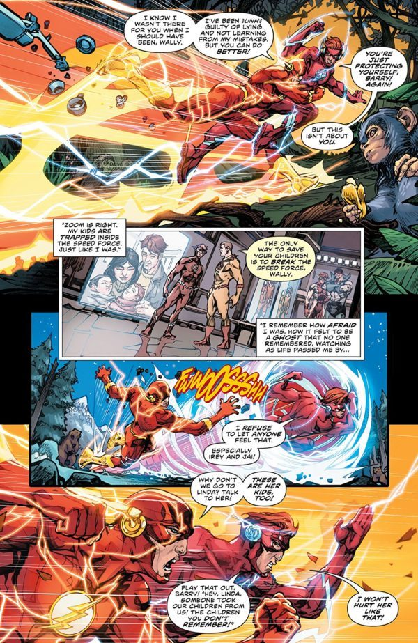 The Flash #49 art by Howard Porter and Hi-Fi