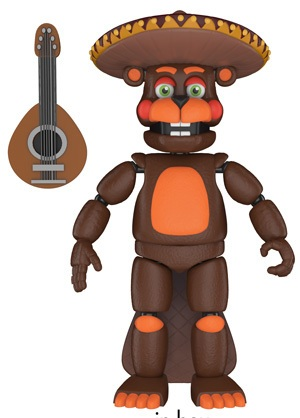 five nights at freddy s new figures keychains and pop coming from
