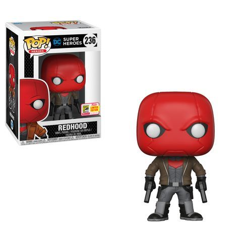 Funko SDCC Exclusive Dc Comics Red Hood Pop