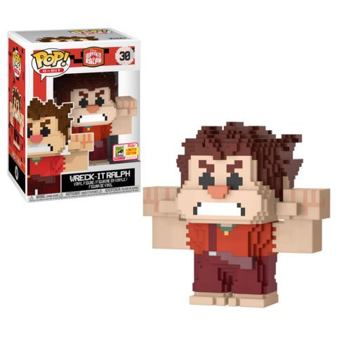 Funko SDCC Exclusive Disney Wreck It Ralph 8 Bit Pop