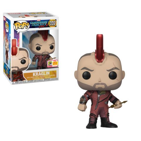 Funko SDCC Exclusive Guardians of the Galaxy Kraglin Pop