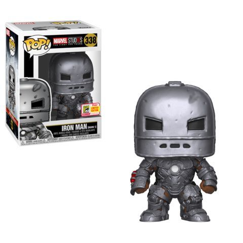 Funko SDCC Exclusive Marvel Iron Man Mark 1 Pop