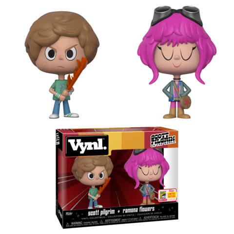 Funko SDCC Exclusive Scott Pilgrim Vynl Two Pack