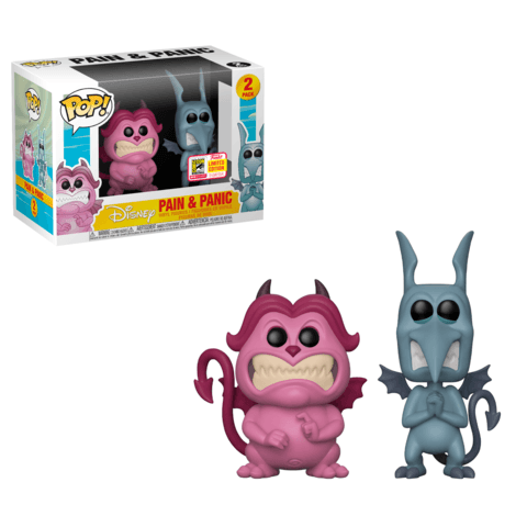 Funko SDCC Hercules Pain and Panic Two Pack