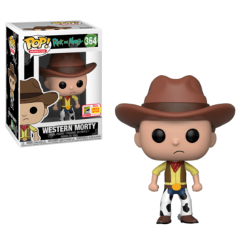 Funko SDCC Rick and Morty Western Morty