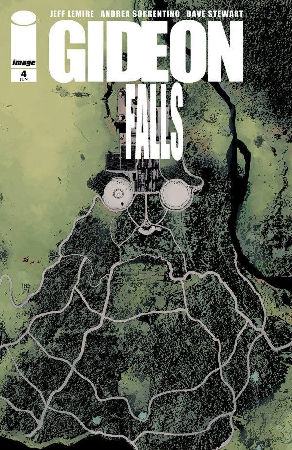 Gideon Falls #4 cover by Andrea Sorrentino
