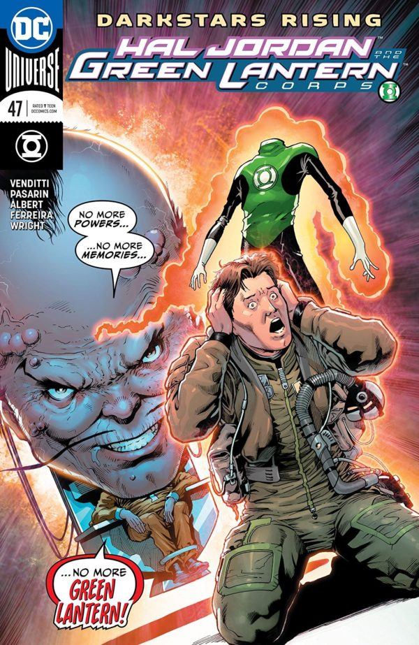 Hal Jordan and the Green Lantern Corps #47 cover by Barry Kitson and Hi-Fi