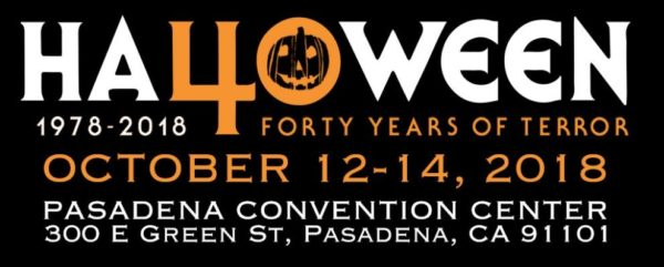 Halloween 40th Anniversary Convention Logo