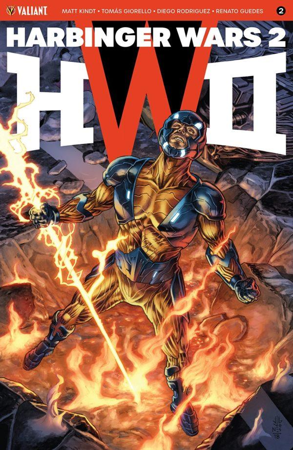 Harbinger Wars II #2 cover by J.G. Jones