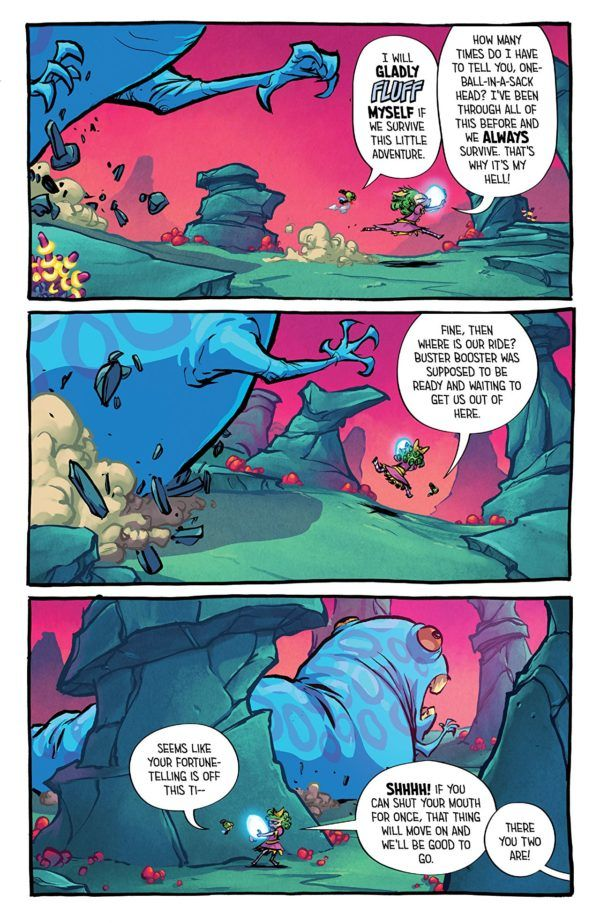 I Hate Fairyland #19 art by Skottie Young and Jean-Francois Beaulieu