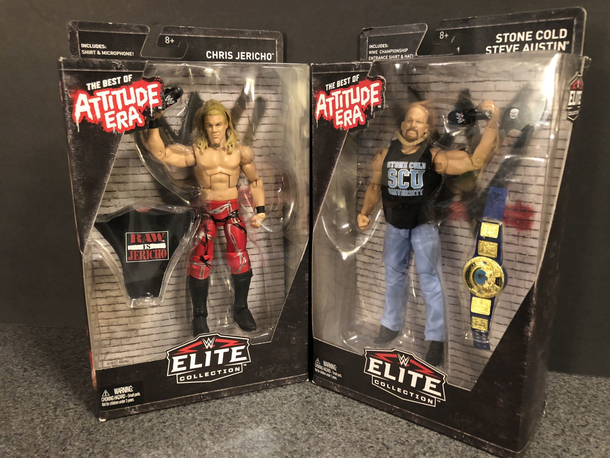 "2018 Mattel WWE Elite Attitude Era Chris Jericho 6/"" Action Figure NEW complete"