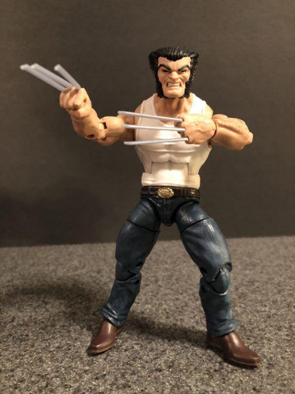 Marvel Legends Wolverine and Bike 6