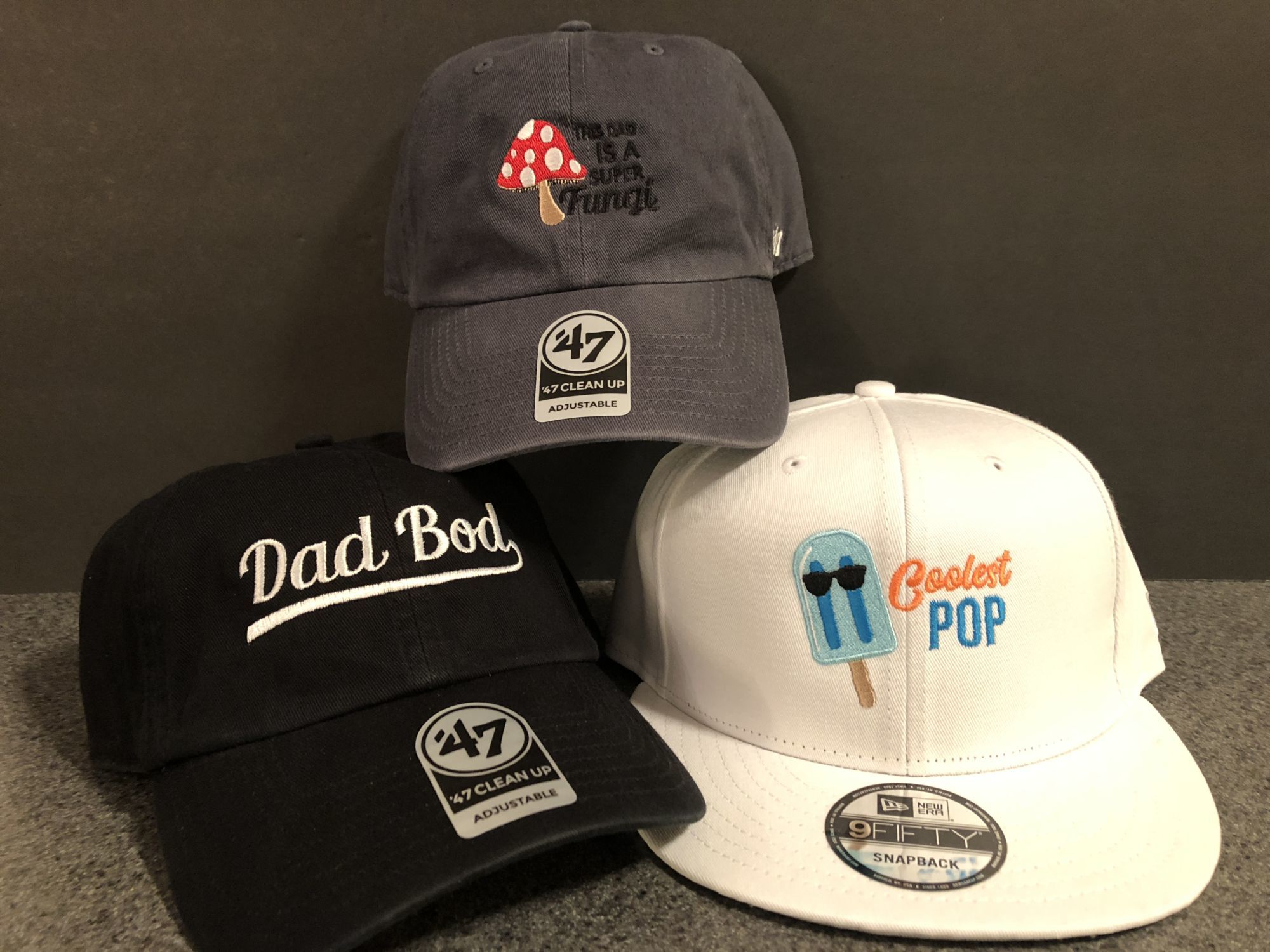 Lids Embroidered Father's Day Hats 1