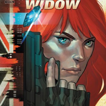 Infinity Countdown: Black Widow #1 cover by Yasmine Putri