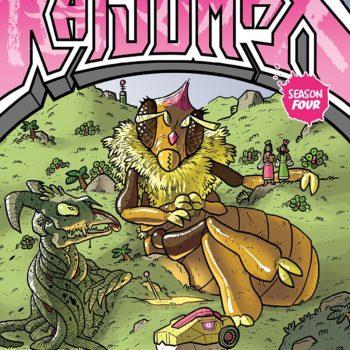 Kaijumax Season 4 #1 cover by Zander Cannon