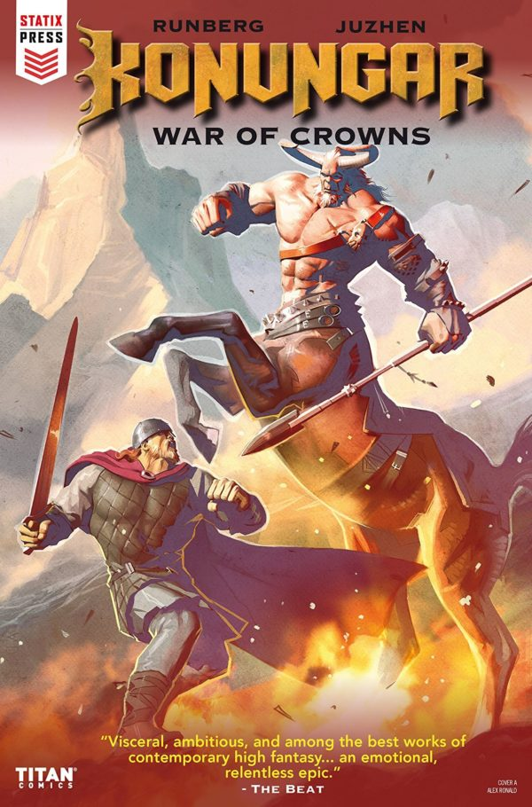 Konungar: War of Crowns #1 cover by Alex Ronald