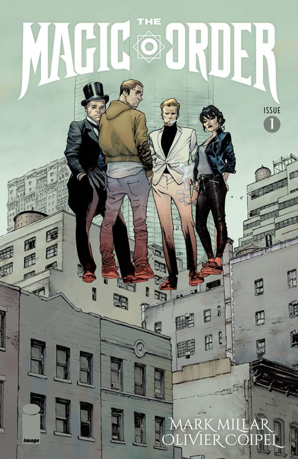 Magic Order #1 cover by Olivier Coipel
