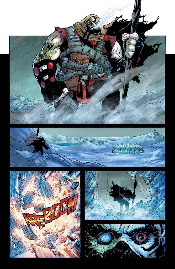 Man of Steel #3 art by Ryan Sook and Alex Sinclair