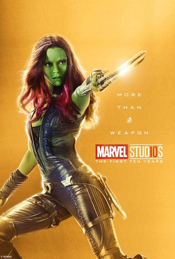 Marvel Studios More Than A Hero Poster Series Gamora