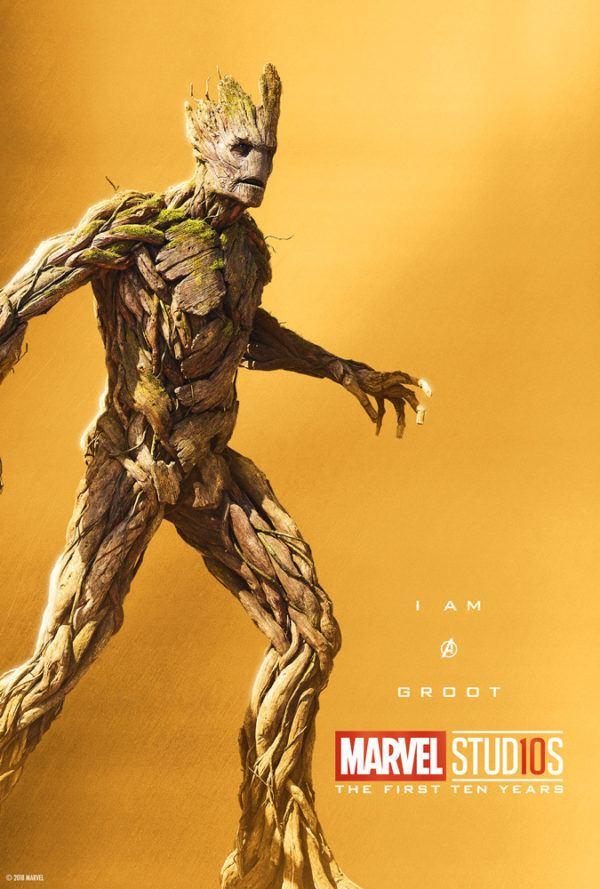 Marvel Studios More Than A Hero Poster Series Groot