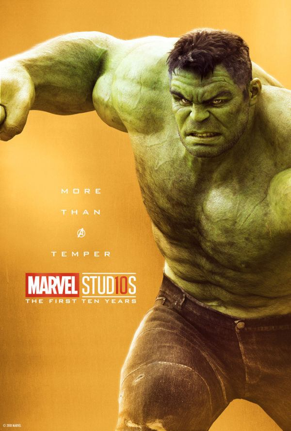 Marvel Studios More Than A Hero Poster Series Hulk