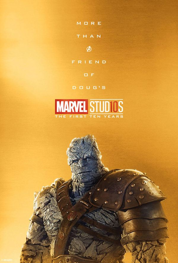 Marvel Studios More Than A Hero Poster Series Korg