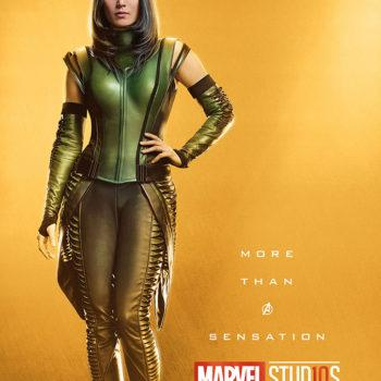 Marvel Studios More Than A Hero Poster Series Mantis
