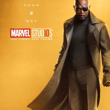 Marvel Studios More Than A Hero Poster Series Nick Fury