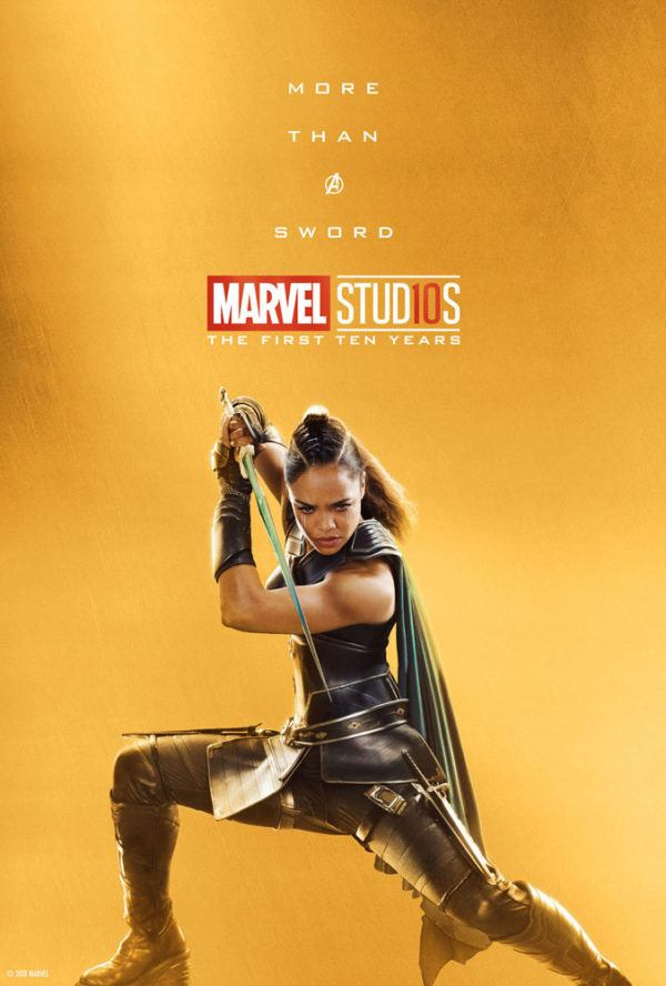 Marvel Studios More Than A Hero Poster Series Valkyrie
