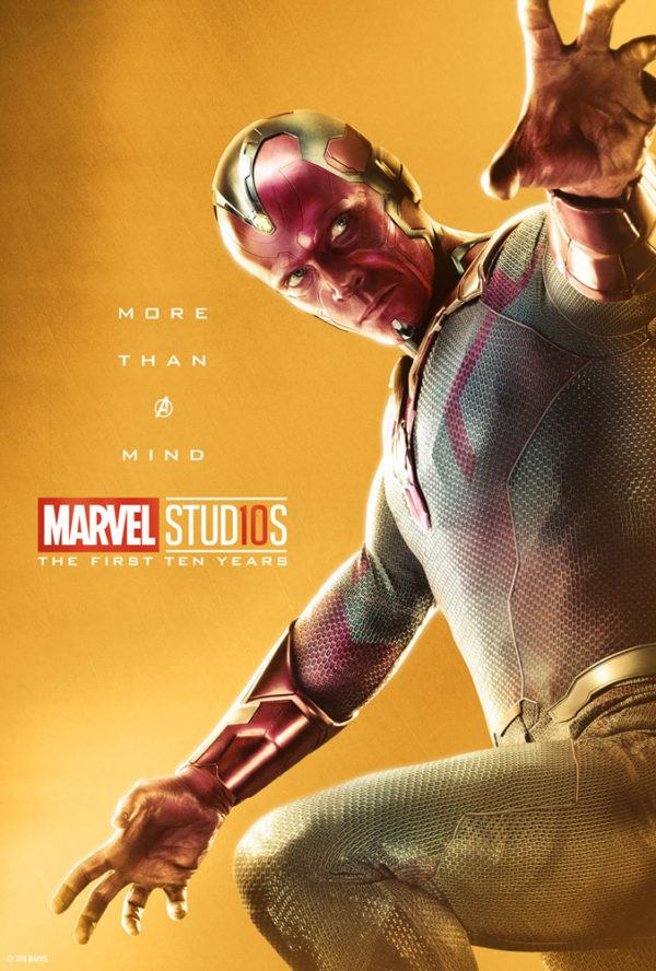 Marvel Studios More Than A Hero Poster Series Vision