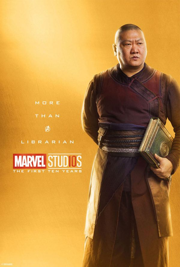 Marvel Studios More Than A Hero Poster Series Wong