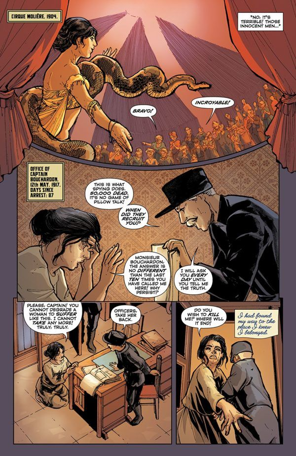 Mata Hari #4 art by Ariela Kristantina and Pat Masioni