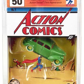 Mattel SDCC Exclusive Action Comics 1 Hot Wheels 2
