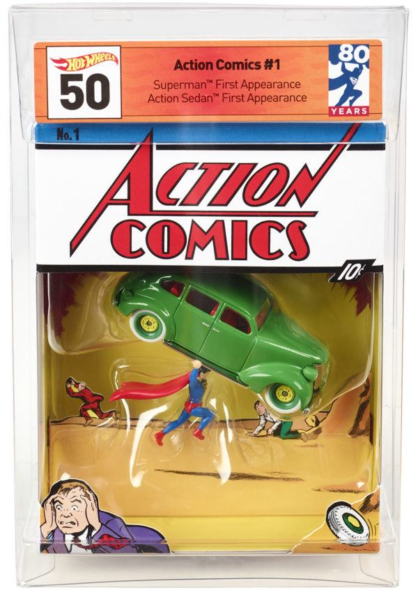 Mattel SDCC Exclusive Action Comics 1 Hot Wheels 2