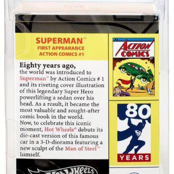 Mattel SDCC Exclusive Action Comics 1 Hot Wheels 3