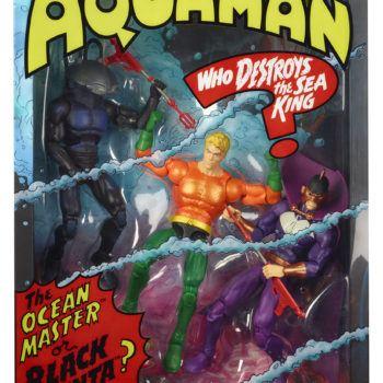 Mattel SDCC Exclusive Aquaman Set 2