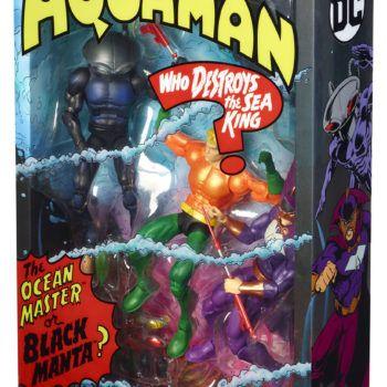 Mattel SDCC Exclusive Aquaman Set 3