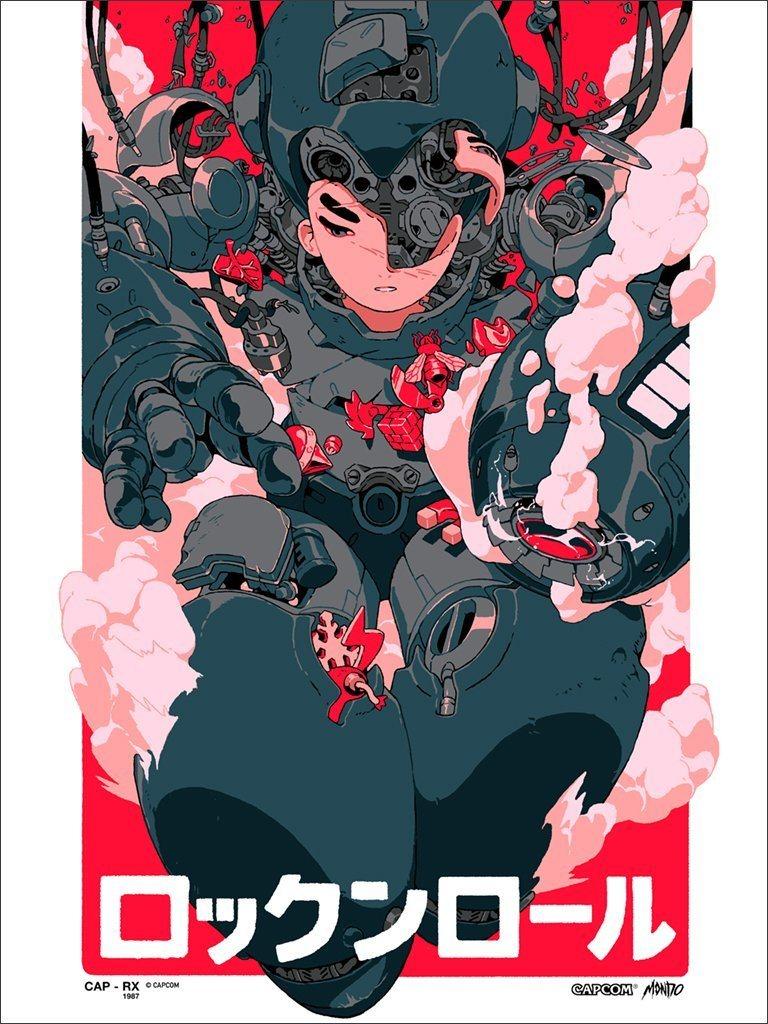 Mondo Mega Man E3 Poster