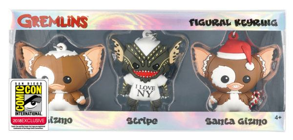 Monogram SDCC Exclusive Gremlins Keyring Set