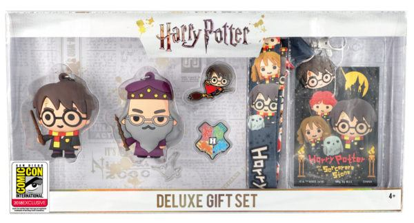 Monogram SDCC Exclusive Harry Potter Keyring Set