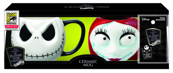 Monogram SDCC Exclusive Nightmare Before Christmas Mug Set