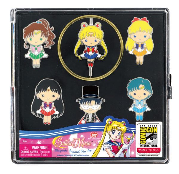Monogram SDCC Exclusive Sailor Moon Pin Set