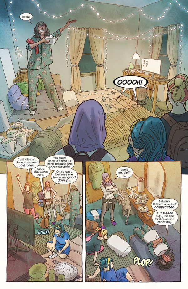 Ms. Marvel #31 art by Nico Leon and Ian Herring