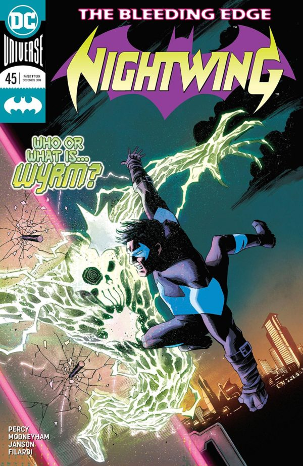 Nightiwng #45 cover by Declan Shalvey and Jordie Bellaire