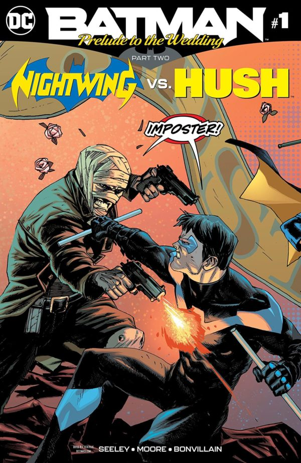 Batman: Prelude to the Wedding- Nightwing vs. Hush #1 cover by Rafael Albuquerque and Dave McCaig